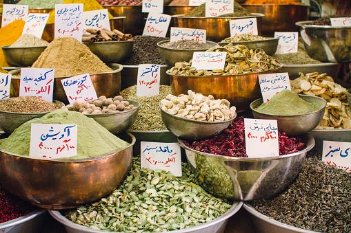 Iran「Iran, Shiraz, Spices at Vakil bazaar」:スマホ壁紙(15)