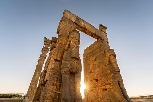 Iran「Iran, Shiraz Province, Persepolis, Gate of all Nations」:スマホ壁紙(4)