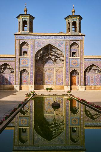 Iranian Culture「Iran, Shiraz, Nasir al Molk mosque」:スマホ壁紙(17)
