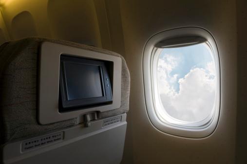 Passenger Cabin「Airplane window」:スマホ壁紙(6)
