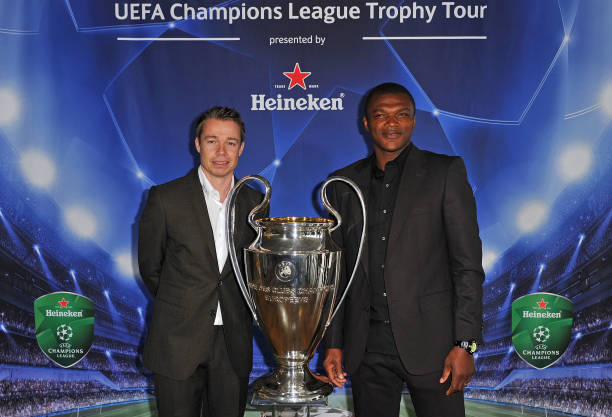Official launch of the UEFA Champions League Trophy Tour presented by Heineken:ニュース(壁紙.com)