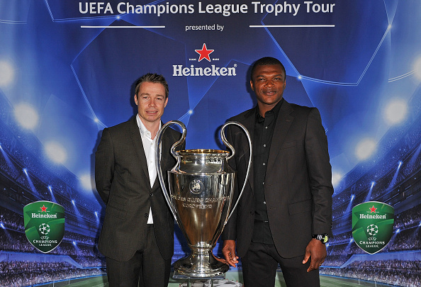 Vaud Canton「Official launch of the UEFA Champions League Trophy Tour presented by Heineken」:写真・画像(0)[壁紙.com]