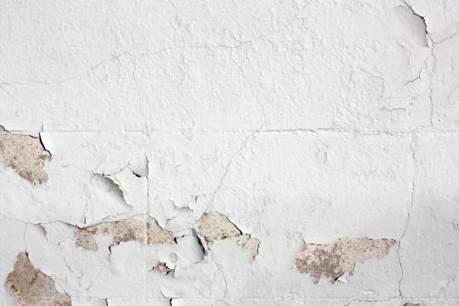 Brick Wall「Peeling white-painted wall detail」:スマホ壁紙(8)