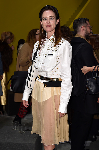 Flared Skirt「Prada -Arrivals and Front Row: Milan Fashion Week Fall/Winter 2019/20」:写真・画像(18)[壁紙.com]