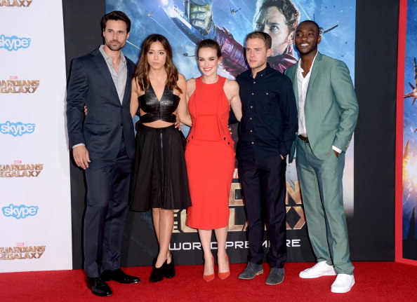 """Awe「Premiere Of Marvel's """"Guardians Of The Galaxy"""" - Arrivals」:写真・画像(13)[壁紙.com]"""