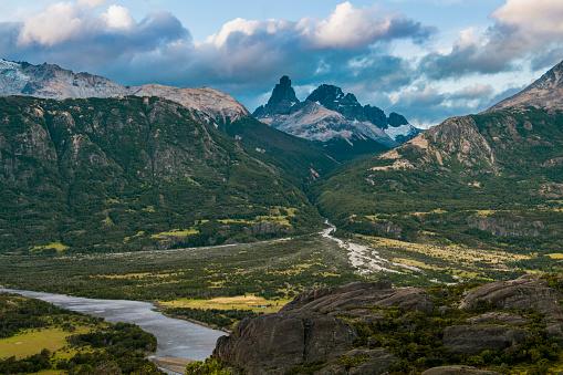 cloud「Landscape of Carretera Austral, Villa Cerro Castillo, XI Region, Chile」:スマホ壁紙(10)