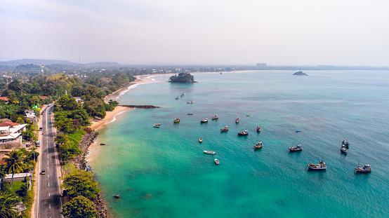 Sri Lanka「Landscape of sea and coastline in Sri Lanka」:スマホ壁紙(12)