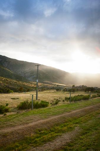 ニュージーランド南アルプス「ニュージーランドのサザン アルプスの風景」:スマホ壁紙(12)