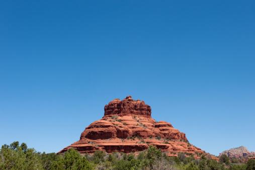 Sedona「Landscape of Red Rock formations in Sedona」:スマホ壁紙(9)