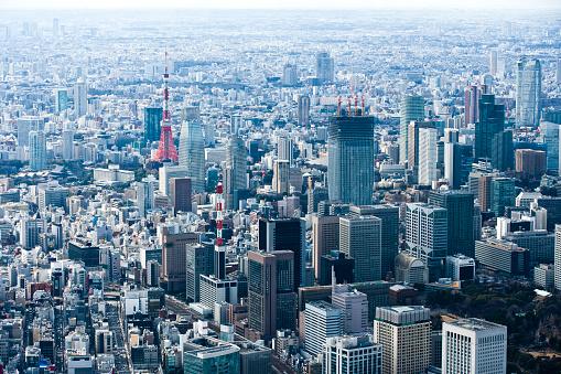 Tokyo Tower「Landscape overlooking the TOKYO TOWER.」:スマホ壁紙(0)