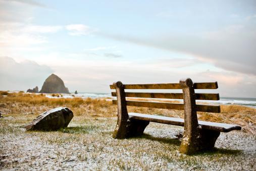 Cannon Beach「Landscape of Haystack Rock in Oregon.」:スマホ壁紙(8)