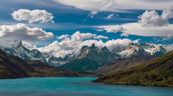 cloud「Landscape of Torres del Paine National park, Magallanes y de la Antarctica Chilena, Chile」:スマホ壁紙(16)