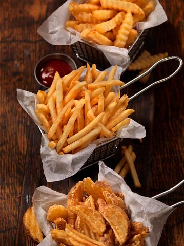 Scalloped - Pattern「Baskets of French Fries」:スマホ壁紙(17)