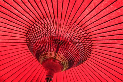 かまくら「Red Paper Umbrella」:スマホ壁紙(10)