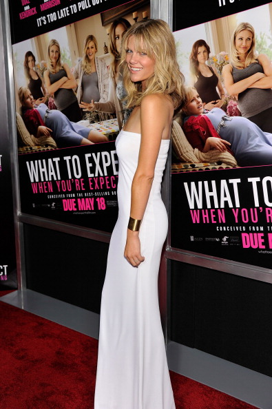 """Form Fitted Dress「""""What To Expect When You're Expecting"""" New York Screening - Inside Arrivals」:写真・画像(3)[壁紙.com]"""