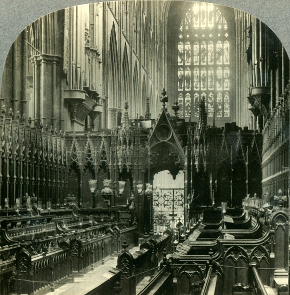 Glass - Material「Westminster Abbey - Interior West Through Choir」:写真・画像(19)[壁紙.com]