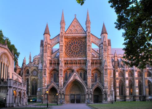 Abbey - Monastery「Westminster abbey at dusk」:スマホ壁紙(14)