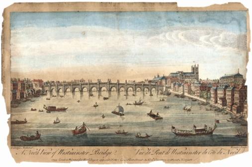 Westminster Abbey「Westminster Bridge, London」:スマホ壁紙(19)