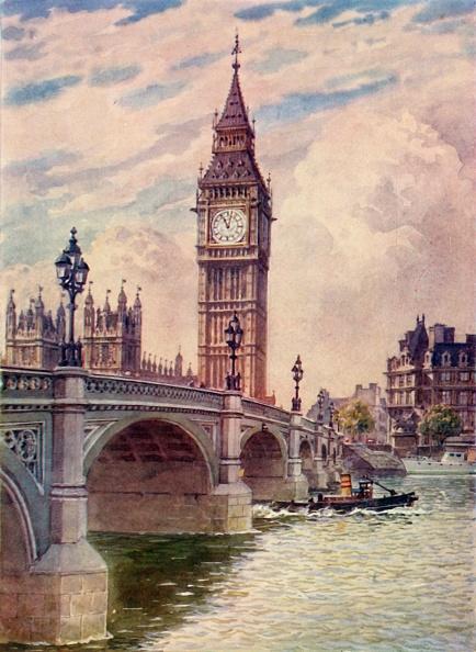Gothic Style「Westminster Bridge And Big Ben」:写真・画像(19)[壁紙.com]