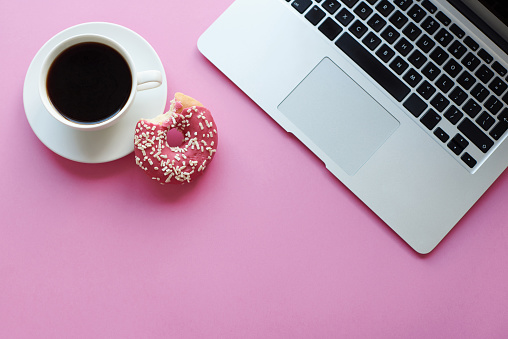 Coffee Break「Relaxation with coffee and donut. Debica, Poland」:スマホ壁紙(8)