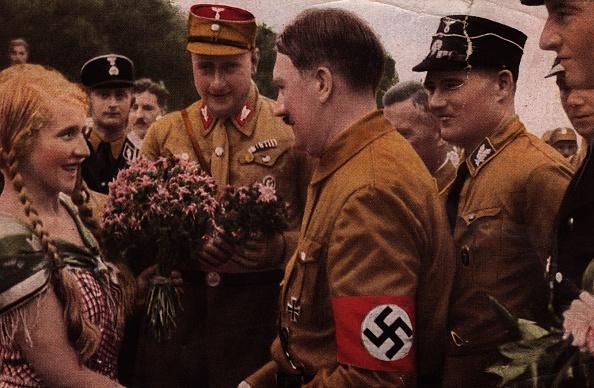Shirt「Nazi Flowers」:写真・画像(4)[壁紙.com]