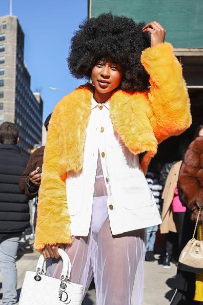 Achim Aaron Harding「Street Style - New York Fashion Week February 2019 - Day 3」:写真・画像(2)[壁紙.com]