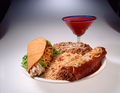Taco「Mexican food with strawberry margarita」:スマホ壁紙(10)