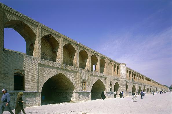 Brick Wall「Khasi bridge. Esfahan, Iran.」:写真・画像(13)[壁紙.com]