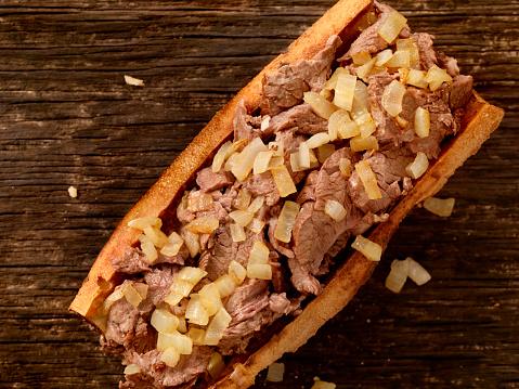 Pennsylvania「Philly Steak Sandwich with Onions」:スマホ壁紙(2)