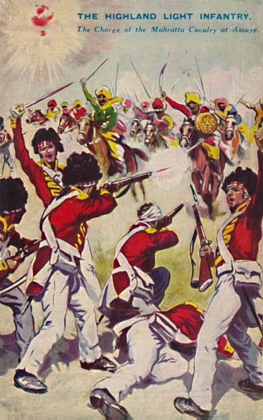 Patriotism「The Highland Light Infantry The Charge Of The Mahratta Cavalry At Assaye」:写真・画像(1)[壁紙.com]
