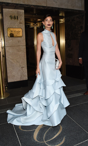 Keyhole Neckline「MET Gala 2015 - Departures from The Carlyle」:写真・画像(11)[壁紙.com]