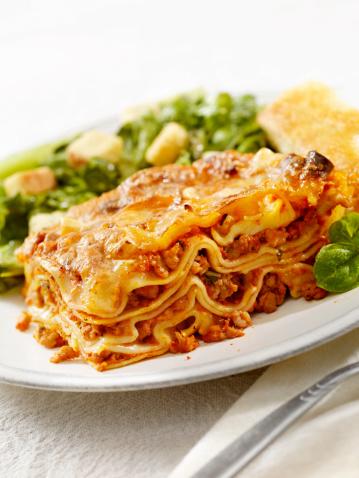 Place Setting「Authentic Italian Meat Lasagna」:スマホ壁紙(6)