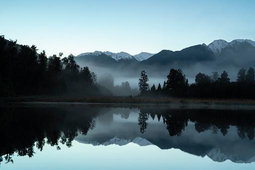 Lake Matheson「Lake Matheson-New Zealand」:スマホ壁紙(17)