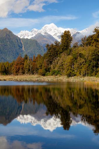 Mount Tasman「Lake Matheson, On New Zealand's South Island」:スマホ壁紙(10)