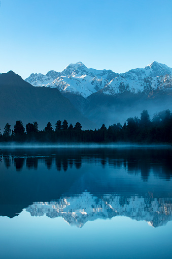 New Zealand「Lake Matheson sunrise」:スマホ壁紙(13)
