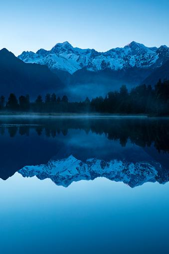 Mt Cook「Lake Matheson sunrise」:スマホ壁紙(16)