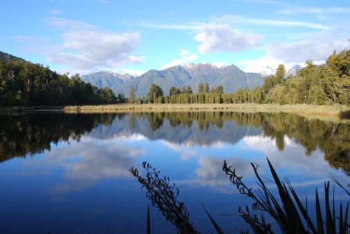 Westland National Park「Lake Matheson, West Coast, New Zealand」:スマホ壁紙(18)