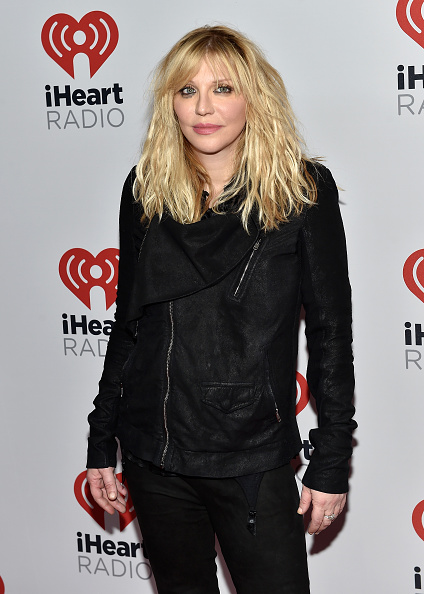 Courtney Love「2015 iHeartRadio Music Festival - Night 1 - Backstage」:写真・画像(3)[壁紙.com]