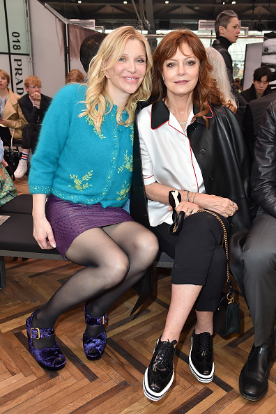 コートニー・ラブ「Prada Resort 2018 Womenswear Show - Front Row」:写真・画像(11)[壁紙.com]