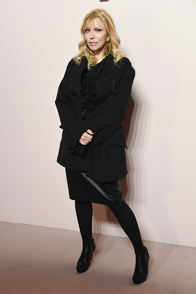 Courtney Love「Tom Ford FW 2019 - Arrivals - New York Fashion Week: The Shows」:写真・画像(11)[壁紙.com]