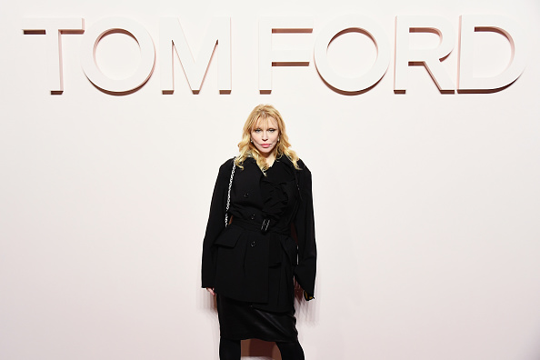 Courtney Love「Tom Ford FW 2019 - Arrivals - New York Fashion Week: The Shows」:写真・画像(16)[壁紙.com]