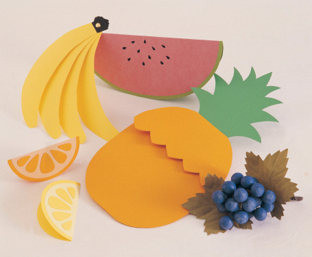 Paper Craft「Fruit」:スマホ壁紙(6)