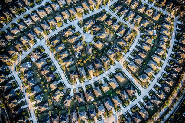 Suburban Master Planned Community Aerial:スマホ壁紙(壁紙.com)