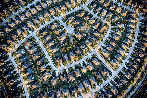 City Life「Suburban Master Planned Community Aerial」:スマホ壁紙(17)