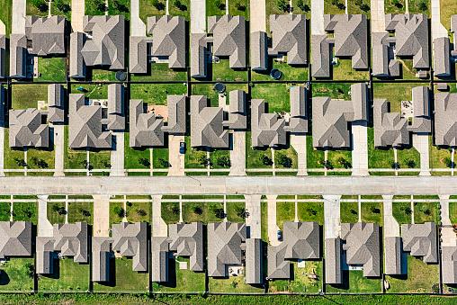 Southern USA「Suburban Master Planned Neighborhood Aerial」:スマホ壁紙(0)