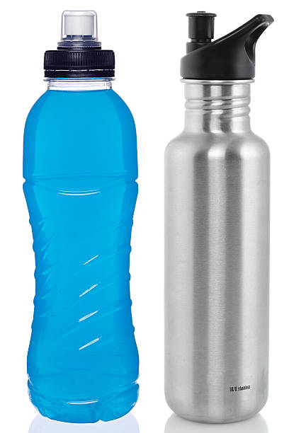 Sports drink and steel bottle:スマホ壁紙(壁紙.com)