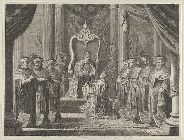 Patriotism「Plate 8: Emperor Maximilian Ii Granting A Crown To The Coat Of Arms Of Amsterdam」:写真・画像(9)[壁紙.com]