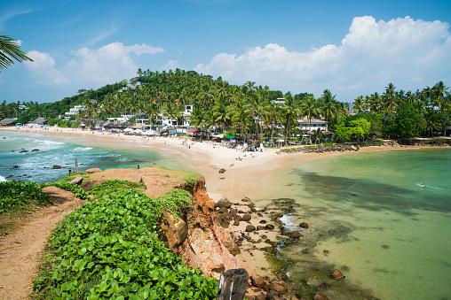 Sri Lanka「Beach landscape, Mirissa, Matara, Southern Province, Sri Lanka」:スマホ壁紙(14)
