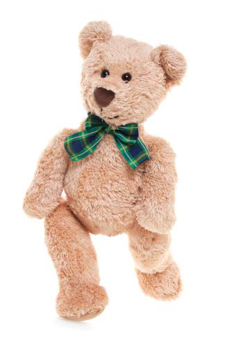 Doll「CuteTeddy Bear Walking」:スマホ壁紙(14)