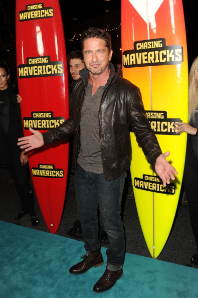 "Leather Jacket「Premiere Of 20th Century Fox's ""Chasing Mavericks"" - Arrivals」:写真・画像(14)[壁紙.com]"